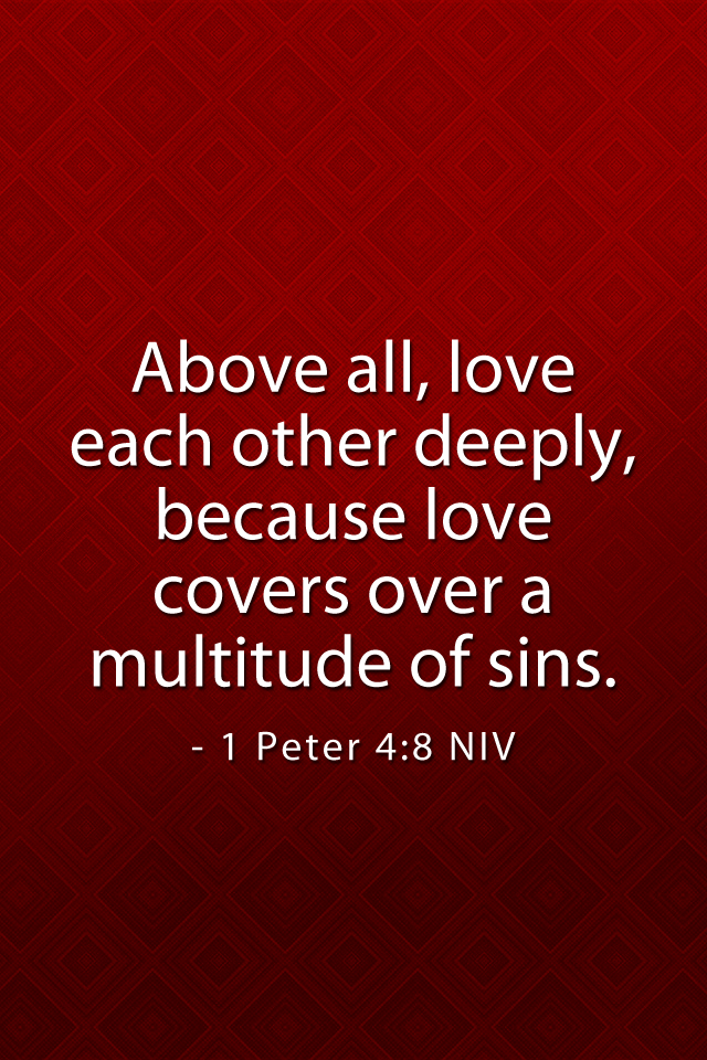 what the bible say about love