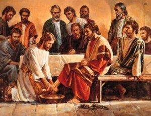 Jesus - Washing Feet 2